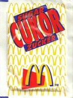McDONALD´S * McCAFE * COFFEE * WHITE SUGAR * Mc Cukor 2002 02 01 * Hungary - Suiker