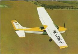 COLOMBIA- 1970`S-   AVIATION ( 37 ).- CESSNA 182M   ( ..-.-.-.-.   ). MINT- MOVIFOTO - 1946-....: Moderne