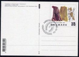 DENMARK 1998 Contemporary Art  Postal Stationery Card, Cancelled.  Nr. CP23 - Postal Stationery
