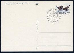 DENMARK 1994 Native Birds Postal Stationery Card, Cancelled.  Nr. CP11 - Postal Stationery