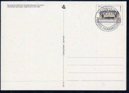 DENMARK 1994 Tramcars Postal Stationery Card, Cancelled.  Nr. CP10 - Postal Stationery