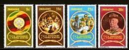 ZIMBABWE, 1982, Mint Never Hinged Stamp(s) Scouting, MI Nr(s). 265-268, #5894 - Zimbabwe (1980-...)