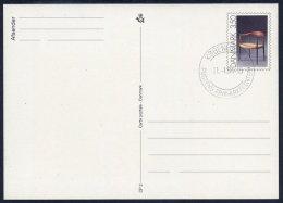 DENMARK 1991 Danish Design: Chair  Postal Stationery Card, Cancelled.  Nr. CP2 - Postal Stationery