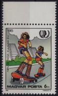 Skateboard Skateboarding - Extreme Sports - 1985 Hungary - MNH - Skateboard