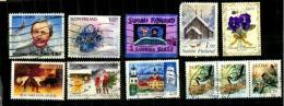 10 Timbres De Finlande Oblitérés - Ohne Zuordnung