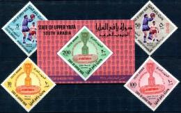 Upper Yafa Soccer WC 1966 Complete MNH**VF Football.PPal Okey - World Cup