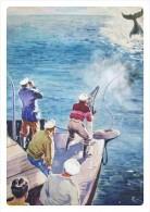"POSTCARDS Bohumil Konecny (1918-1990) 010: Hunting For Monster (cover Of The Magazine ""Forward"", 1947) - Pittura & Quadri"