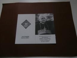 Doodsprentje Bisschop Marcel Van Rengen (Mol 1914 - Kinshasa 1988) Mweka, Kongo - Godsdienst & Esoterisme