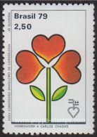 Brazil, Sc , SG 1771 Mint, Not Hinged - 1979 2cr.50  - Congress, Heart, Anniversary, Plants - Brazil