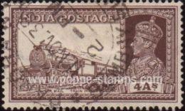India, Sc , SG 255 Study, Not Hinged - 1937 4a.  - Trains, Railway - Non Classés
