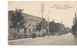 Belarus Vitebsk Witebsk Ecole De Jeunes Filles School 1912 OLD POSTCARD 2 Scans - Belarus