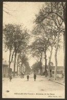 BELLAC Avenue De La Gare (Vinson) Haute Vienne (87) - Bellac