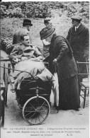 LA GRANDE GUERRE 1914 : L'Impératrice Eugénie Rend Visite Aux Blessés Anglais - Belle CPA Non Utilisée - Weltkrieg 1914-18