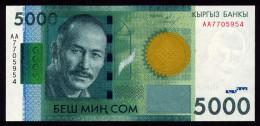 KYRGYZSTAN 5000 SOM 2009 Pick 30 Unc - Kirghizistan