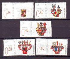 Slovenia 2014 Y Heraldic Nobility Crests MNH - Slovénie