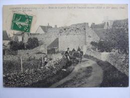 37-AL7-CORMERY  - RESTES DE LA PARTIE OUEST DE L'ANCIENNE ENCEINTE- - Autres Communes