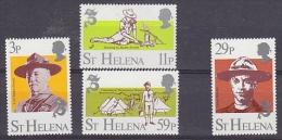 St. Helena 1982 Scouting 4v ** Mnh (17489) - Sint-Helena