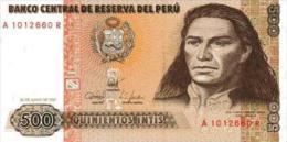 Peru 500 Soles De Oro 1987 Pick 134 UNC - Perú