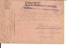 Carte Lettre Militaire , Feldpost, 1918 Pour La Hongrie  (734) - 1850-1918 Imperium
