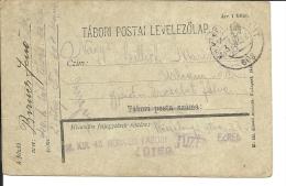Carte Lettre Militaire , Feldpost,  Royaume De Hongrie  1918(735) - 1850-1918 Imperium