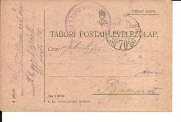 Carte Lettre Militaire , Feldpost,  Royaume De Hongrie  1917(737) - 1850-1918 Imperium