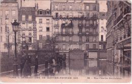 PARIS -inondations 1910 - 52 - Rue Charles Baudelaire -sans éditeur - Arrondissement: 12