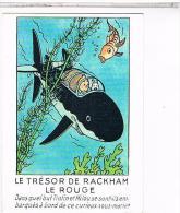 CPM    AVENTURES DE TINTIN    LE TRESOR DE RACKHAM LE ROUGE                                CE325 - Bandes Dessinées
