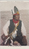 Indiaan      Native Arizonians USA   Piute Indian Chief. Bull Tom             Scan 8390 - Personnages Historiques