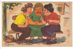 CPSM HUMOUR COMMERE BAVARDAGES - Et Patati....et Patata Illustrateur BUDOU - Humour