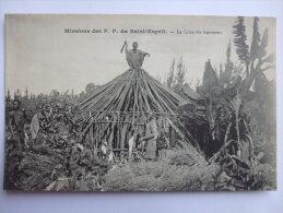AFRIQUE - AL7 - MISSIONS DES P.P. DU SAINT ESPRIT  - LA CRISE DU LOGEMENT   - - Ansichtskarten