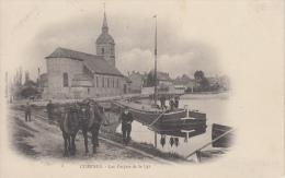 Comines   Les Forçats De La Lys     Paarden Trekken Boot Binnenschip Scan 8395 - Other Municipalities