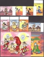 Walt Disney  MiNr. 1384 - 1393 (Block 180) Dominica  MNH / ** / POSTFRISCH - Disney