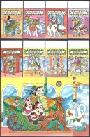 Walt Disney  MiNr. 1354 - 1363 (Block 174) Dominica  MNH / ** / POSTFRISCH - Disney