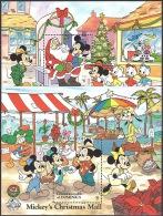 Walt Disney  MiNr. 1170 - 1171 (Block 140+141) Dominica  MNH / ** / POSTFRISCH - Disney