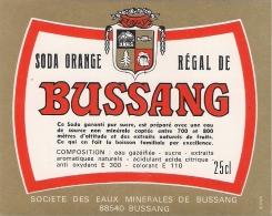 Etiquette Soda De BUSSANG. Vosges. Neuve - Altri