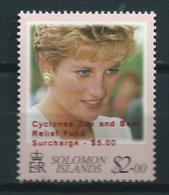 2003 Solomon Islands Cyclone Relief,Lady Di MNH,Postfris,Neuf Sans Charniere - Salomoninseln (Salomonen 1978-...)
