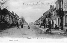 ROUVRAY L'entrée Du Haut Chaudouet 1905 TB - Autres Communes
