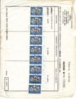 Republique Democratique Congo - Za�re, takszegels op factuur (E00002)