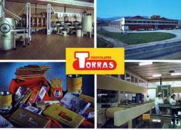 USINE DE CHOCOLAT TORRAS  ESPAGNE - Publicidad