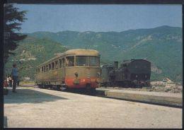 WC328 STAZIONE  DI SAN FILI ( COSENZA ) - Stations With Trains