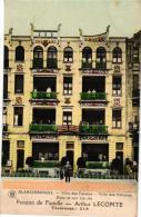 Blankenberge  3 CPA   Villa Des Faisans Villa Des Pélicans Pension De Famille   Taverne Belga  Pavillion Royal - Blankenberge