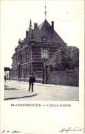 Blankenberge  6 CPA  Gr Hotel  Hotel Azaert '27 Oude Kerk Hôtel De 'l Univers School Au Chaval Blanc - Blankenberge