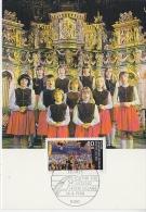 Berlin 1988 Jugend / Kinderchor  1v Maximum Card (17513) - Maximum Kaarten