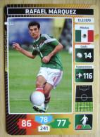 2014 PANINI CARD (NOT STICKER) FIFA SOCCER WORLD CUP RAFAEL MARQUEZ MEXICO - Panini