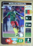 2014 PANINI CARD (NOT STICKER) FIFA SOCCER WORLD CUP NICOLAS NKOULOU CAMEROUN - Panini