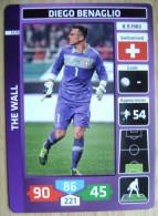 2014 PANINI CARD (NOT STICKER) FIFA SOCCER WORLD CUP DIEGO BENAGLIO SWITZERLAND - Panini