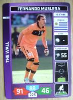 2014 PANINI CARD (NOT STICKER) FIFA SOCCER WORLD CUP FERNANDO MUSLERA URUGUAY - Panini
