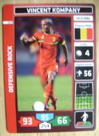 2014 PANINI CARD (NOT STICKER) FIFA SOCCER WORLD CUP VINCENT KOMPANY BELGIUM - Panini