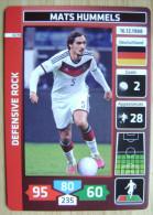 2014 PANINI CARD (NOT STICKER) FIFA SOCCER WORLD CUP MATS HUMMELS GERMANY - Panini