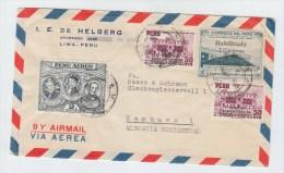 Peru/Germany AIRMAIL COVER - Peru